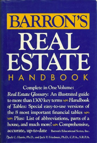 9780812056112: Barron's real estate handbook