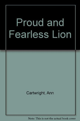 9780812058000: Proud and Fearless Lion