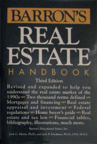 9780812063301: Barron's Real Estate Handbook