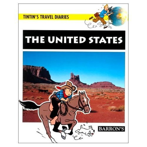 9780812064285: The United States (Tintin's Travel Diaries)