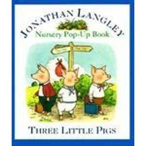 9780812065718: Three Little Pigs: Nursery Pop-Up Book