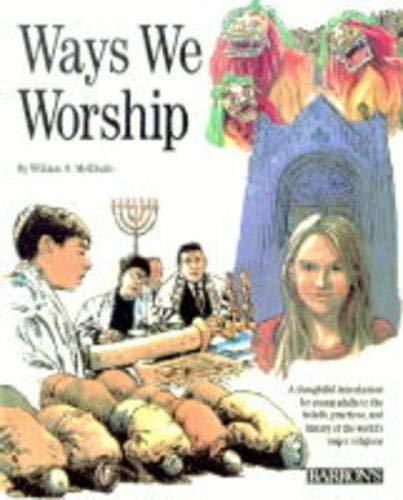 Ways We Worship (0812066251) by William N. McElrath