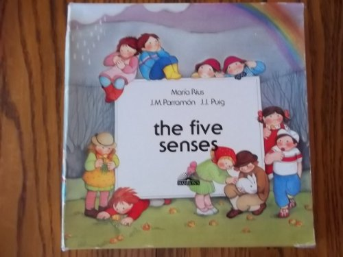 9780812073652: The Five Senses: Hearing, Sight, Smell, Taste, Touch (English and Spanish Edition)