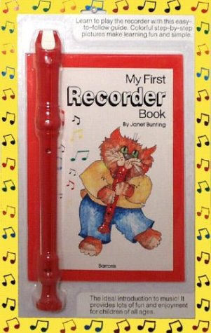9780812076189: My First Recorder Book