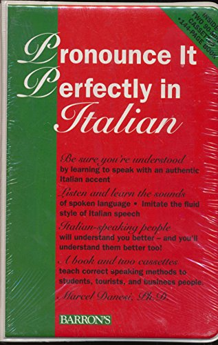 9780812080155: Pronounce It Perfectly in Italian