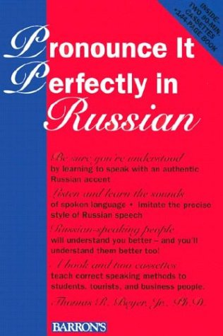 9780812080162: Pronounce it Perfectly in Russian: Book with 2 Cassettes (Pronounce it Perfectly Series)