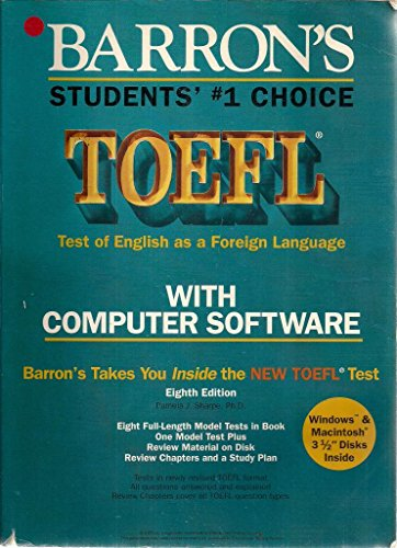 9780812084702: How to Prepare for the Toefl With Computer Software: Test of English As a Foreign Language (Barron's How to Prepare for the TOEFL (W/CD Audio))