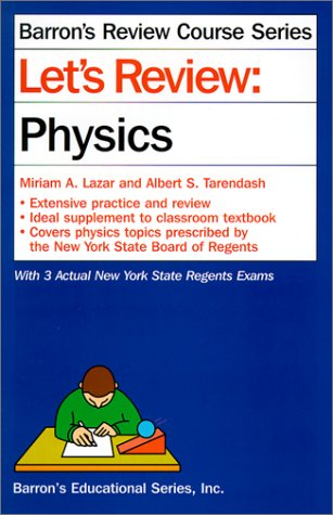 Power Pack: Physics (0812084713) by Barrons Educational Series; Barron