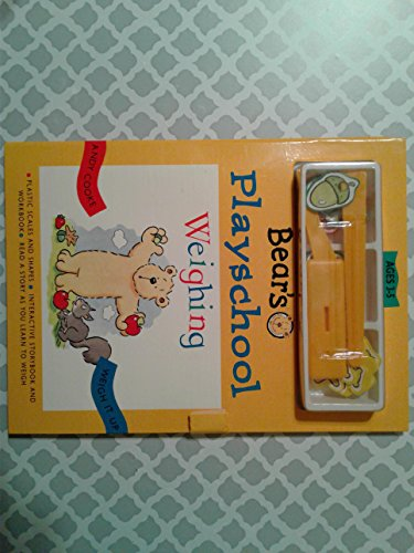 Bear's Playschool Weighing: Weigh it Up: Cooke, Andy