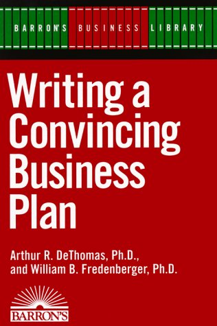 9780812090918: Writing a Convincing Business Plan (Barron's Business Library)