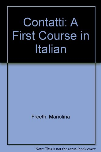 9780812090932: Contatti: A First Course in Italian