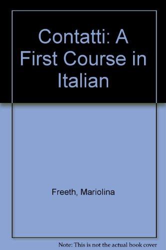 9780812090932: Contatti: A First Course in Italian