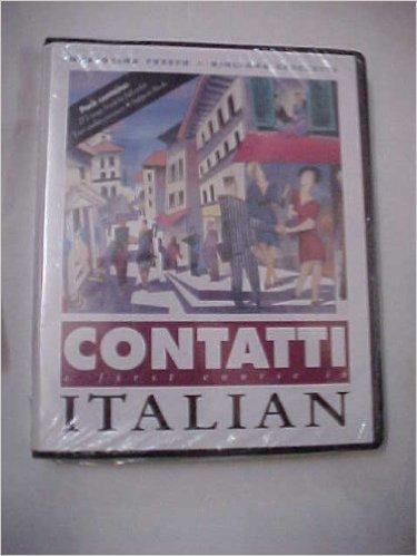 9780812090956: Contatti: A First Course in Italian