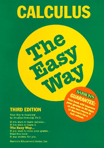 9780812091410: Calculus the Easy Way (Easy Way Series)