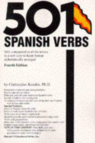 9780812092820: 501 Spanish Verbs: Fully Conjugated in All the Tenses in a New Easy-To-Learn Format Alphabetically Arranged