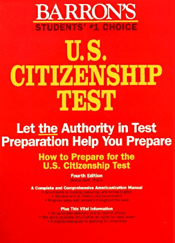 9780812093285: How to Prepare for the U.S. Citizenship Test (4th ed)