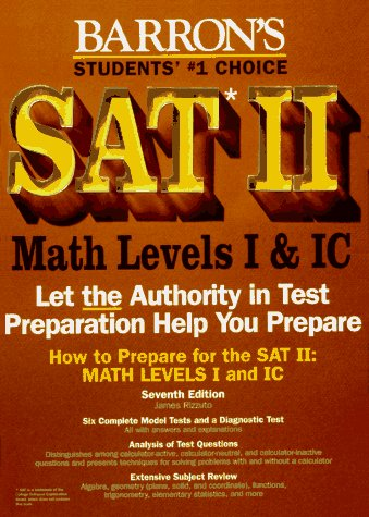 9780812095296: How to Prepare for Sat II: Mathematics Levels I and Ic (7th ed)