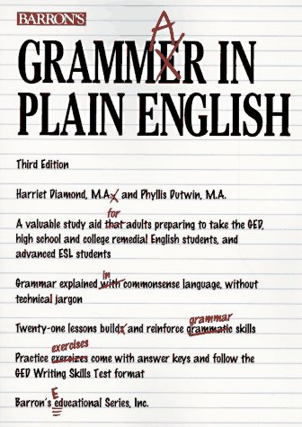 9780812096484: Grammar in Plain English