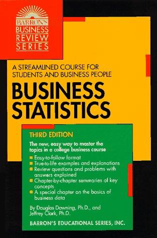 9780812096583: Business Statistics