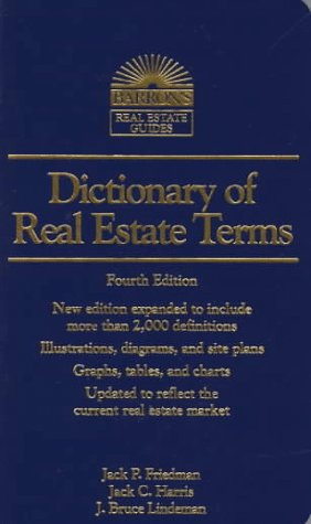 9780812096606: Dictionary of Real Estate Terms (4th ed) (Barron's Real Estate Guides)