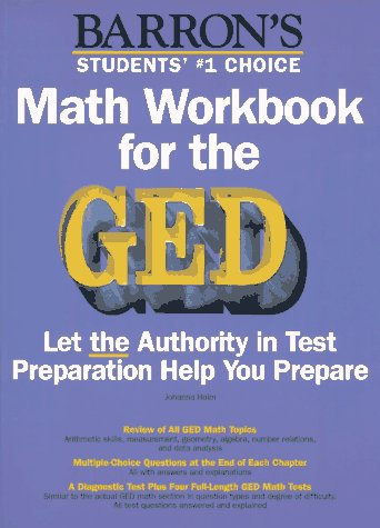 9780812097078: Math Workbook for the GED (Barron's Math Workbook for the GED)