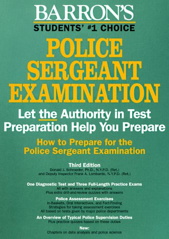 9780812097344: How to Prepare for the Police Sergeant Examination (Barron's How to Prepare for the Police Sergeant Examination)