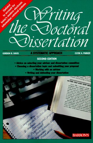 9780812098006: Writing the Doctoral Dissertation