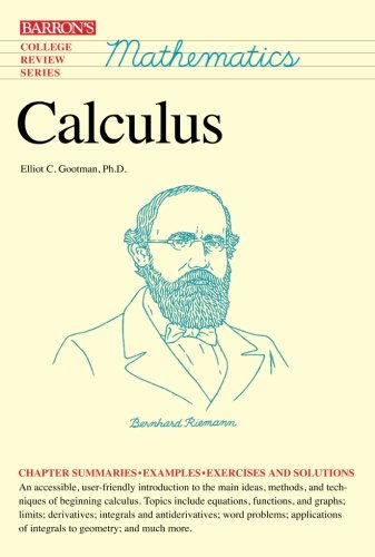 9780812098198: Calculus (Barron's College Review Series)