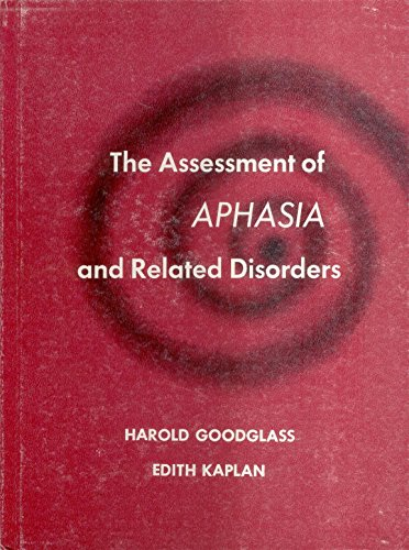 9780812103571: Assessment of Aphasia and Related Disorders