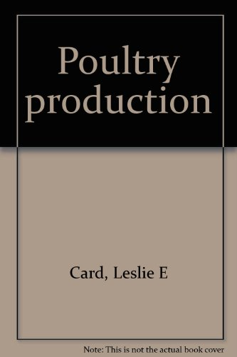 9780812103984: Poultry production,