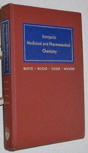 9780812104431: Inorganic, Medicinal and Pharmaceutical Chemistry