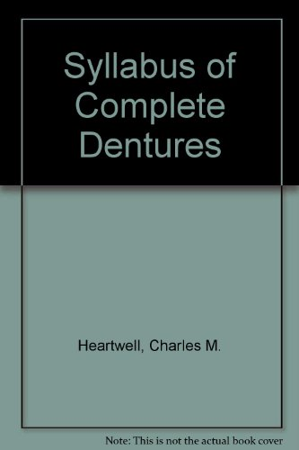 9780812104547: Syllabus of Complete Dentures