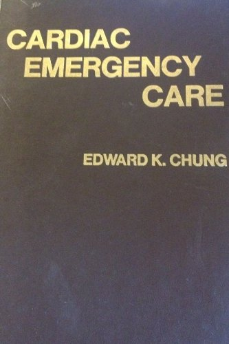 9780812105162: Cardiac Emergency Care