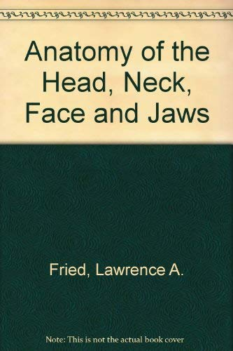 9780812105391: Anatomy of the Head, Neck, Face and Jaws