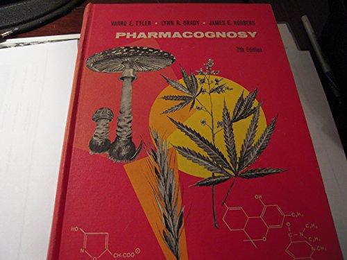 Pharmacognosy: Varro E. Tyler,