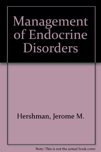 9780812107159: Management of Endocrine Disorders