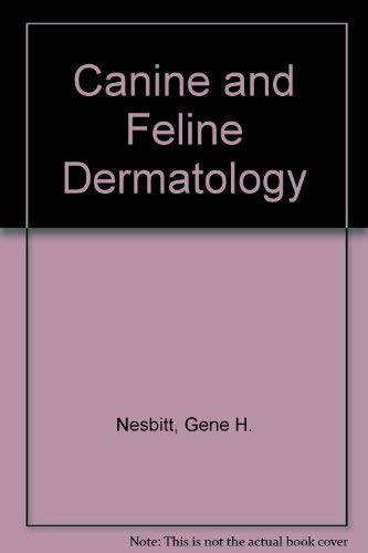9780812108590: Canine and Feline Dermatology