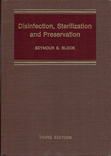 9780812108637: Disinfection, Sterilization and Preservation
