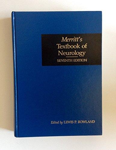 9780812108934: Merritt's Textbook of Neurology