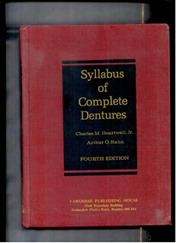 9780812110036: Syllabus of Complete Dentures