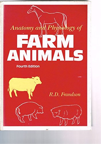 0812110269 - Anatomy and Physiology of Farm Animals 4th Edition by ...