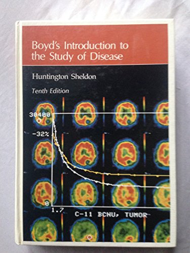 9780812111576: Boyd's Introduction to the Study of Disease