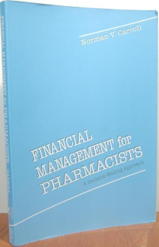 9780812113419: Financial Management for Pharmacists: A Decision-Making Approach