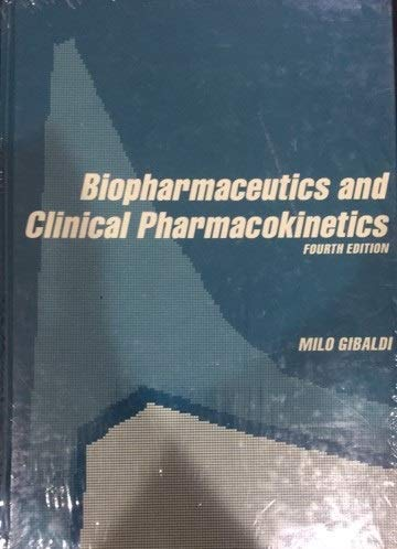 9780812113464: Biopharmaceutics and Clinical Pharmacokinetics