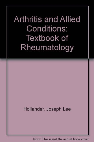 9780812114300: Arthritis and Allied Conditions: A Textbook of Rheumatology