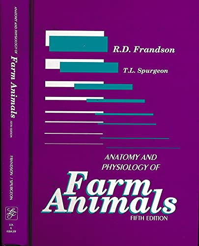 9780812114355: Anatomy and Physiology of Farm Animals