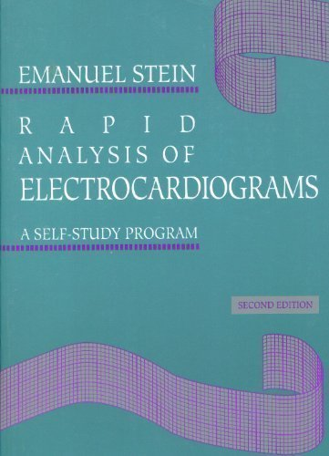 9780812114416: Rapid Analysis of Electrocardiograms: A Self-Study Program