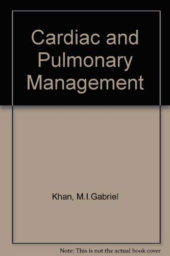 Cardiac and Pulmonary Management: Paul L. Marino;