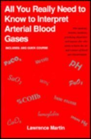 9780812115727: All You Really Need to Know to Interpret Arterial Blood Gases