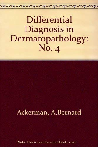 9780812116762: Differential Diagnosis in Dermatopathology IV (No. 4)